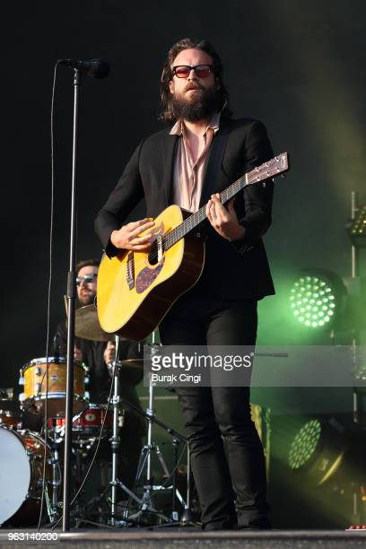 Father John Misty performs on day 3 of All Points East Festival at Victoria Park on May 27 2018 in London England