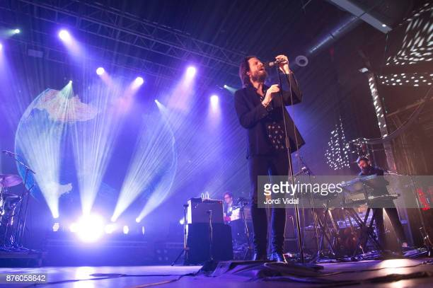 Father John Misty performs on stage at Razzmatazz on November 18 2017 in Barcelona Spain