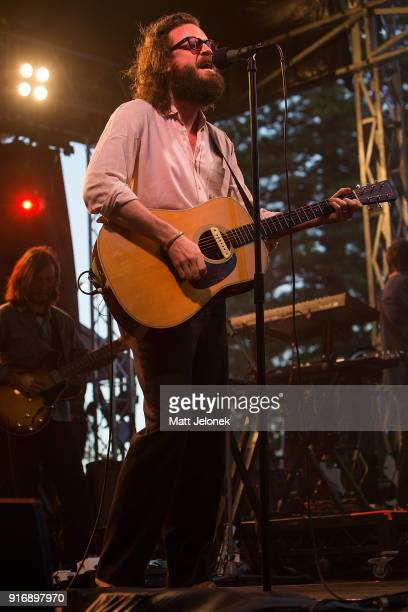Father John Misty performs on stage at St Jerome's Laneway Festival on February 11 2018 in Fremantle Australia