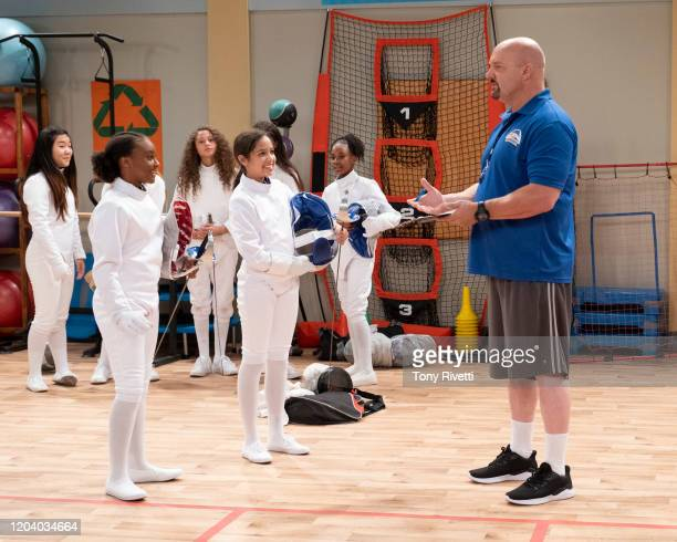 MAX Father Of The Bribe Sydney is excited when she makes the school's first girls fencing team But when she learns her dad helped Coach Carlock...