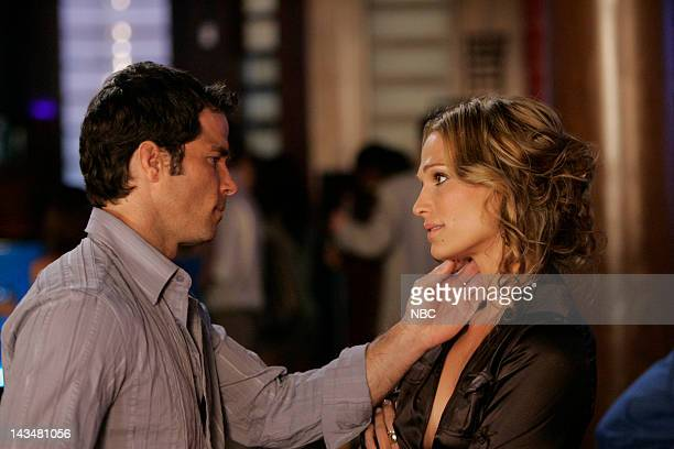 LAS VEGAS Father of the Bride Redux Episode 1 Aired 11/10/06 Pictured Shawn Christian as Dr Derek Stevenson Molly Sims as Delinda Deline
