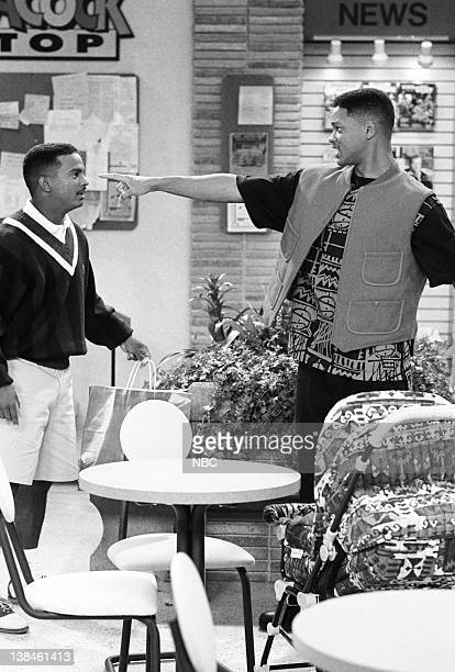 AIR 'Father of the Year' Episode 4 Pictured Alfonso Ribeiro as Carlton Banks Will Smith as William 'Will' Smith