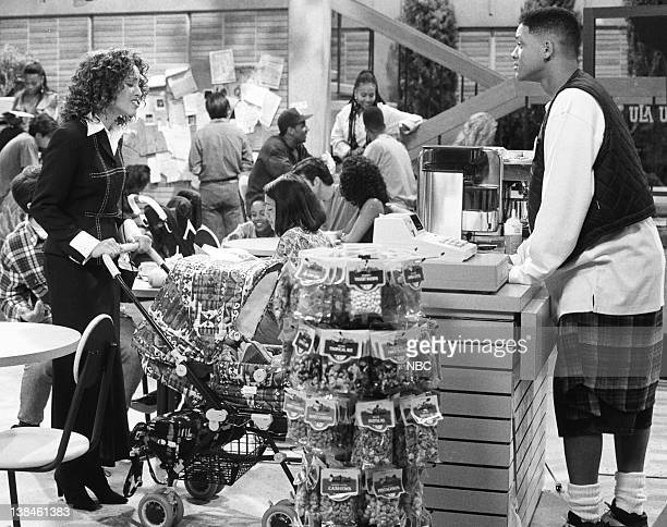 AIR 'Father of the Year' Episode 4 Pictured Karyn Parsons as Hilary Banks Will Smith as William 'Will' Smith
