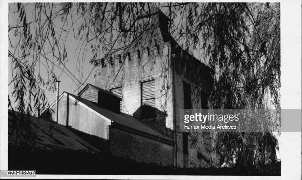 Father O'Hallbran at the Goulburn Brewery soon to produce deer again by the profits will not be lining the pockets of the wealthy May 24 1989