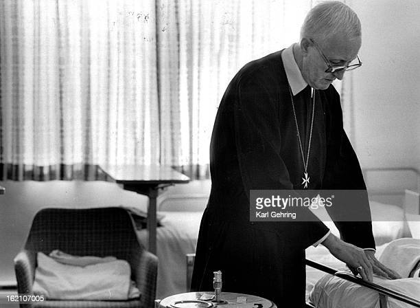 OCT 25 1987 Father Paul Von Lobkowitz attended to Aids victim The man had a very short time to live The patient was unable to give permission to be...