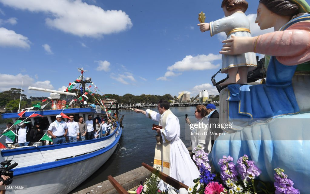 Blessing Of The Fleet Celebrations At Sydney Fish Market