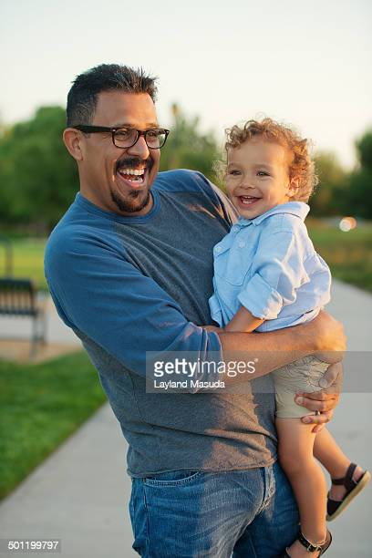 father son magic - irvine california stock pictures, royalty-free photos & images
