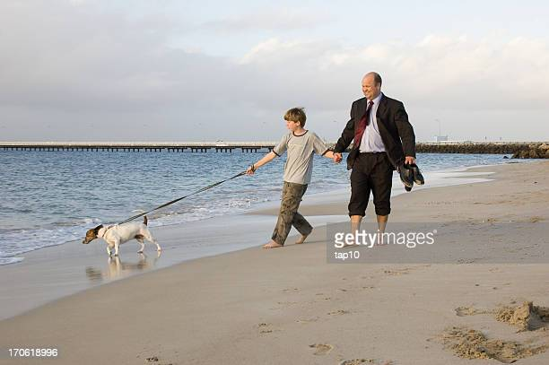 Father Son Walk