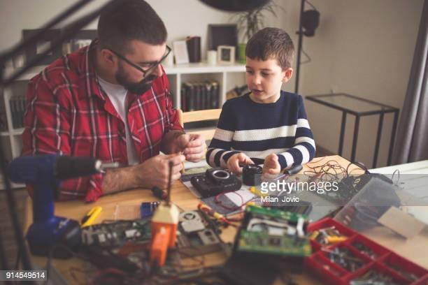 父教育息子マニュアル カメラを修復するには