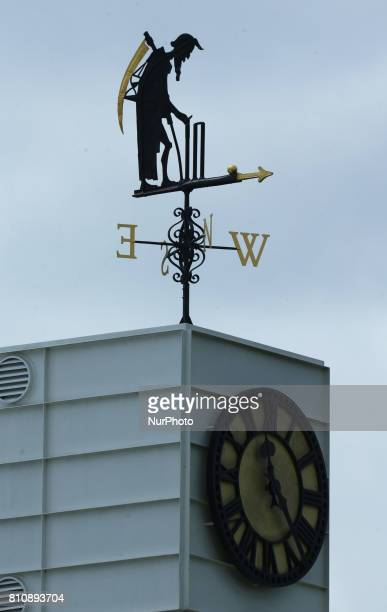 Father Time during 1st Investec Test Match Day Three between England and South Africa at Lord's Cricket Ground in London on July 08 2017