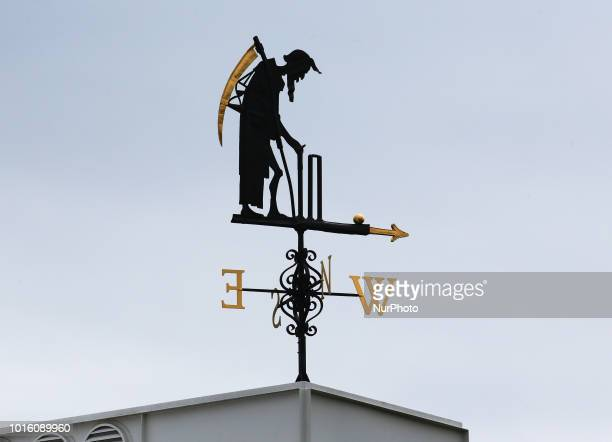 Father Time during International Test Series 2nd Test 3rd day match between England and India at Lords Cricket Ground London England on 11 August 2018