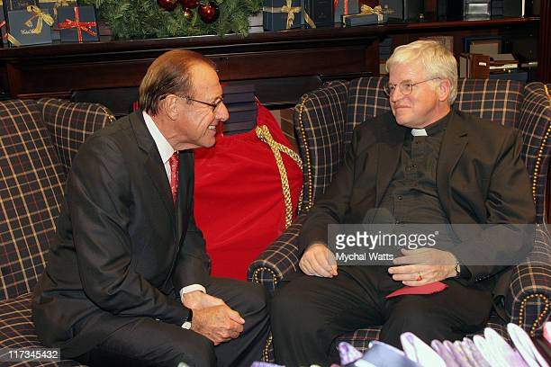 Father Tom Hartman and Mr Frank Castagna Manhassett Mall Owner
