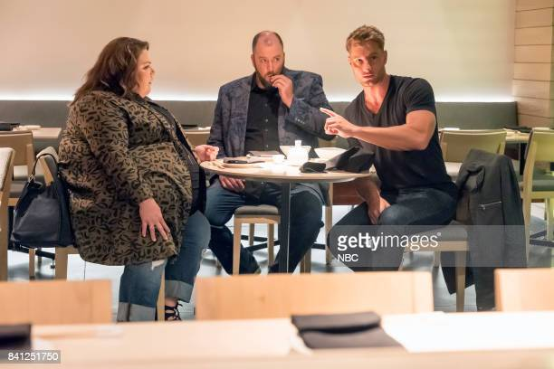 US A Father's Advice Episode 201 Pictured Chrissy Metz as Kate Chris Sullivan as Toby Justin Hartley as Kevin