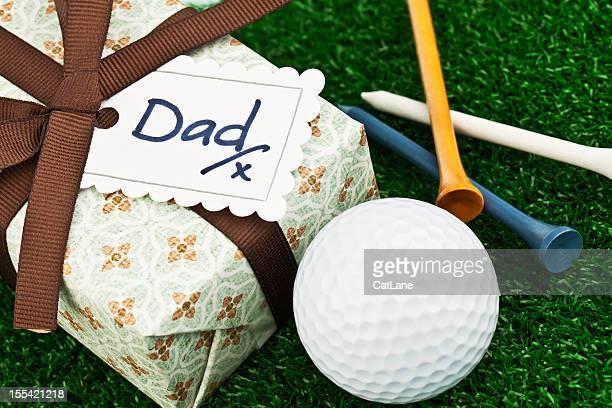 Dia do Pai ou aniversário presente para o Jogador de golfe