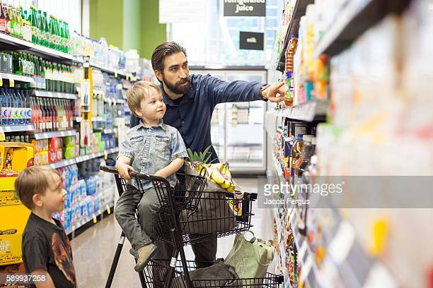 Fathers Grocery Shopping