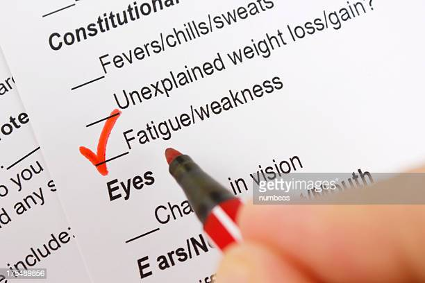 fatigue & weakness - multiple sclerosis stock photos and pictures