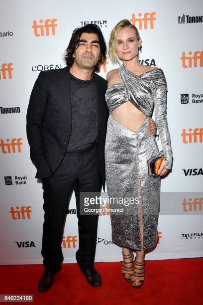 Fatih Akin and Diane Kruger attend the 'In the Fade' premiere during the 2017 Toronto International Film Festival at The Elgin on September 12 2017...