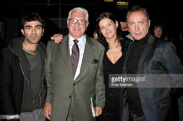 """Fatih Akin - Director of the film """"Head On"""" The Turkish Consul General, Guest, and Udo Kier"""