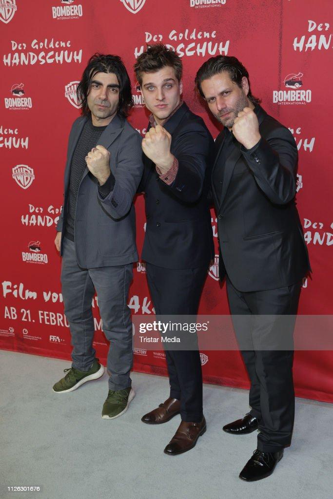 """DEU: """"Der Goldene Handschuh"""" Hamburg Premiere"""