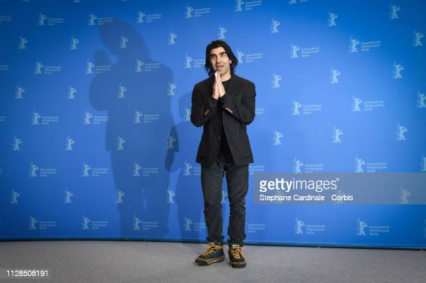 """Fatih Akin poses at the """"The Golden Glove"""" photocall during the 69th Berlinale International Film Festival Berlin at Grand Hyatt Hotel on February..."""