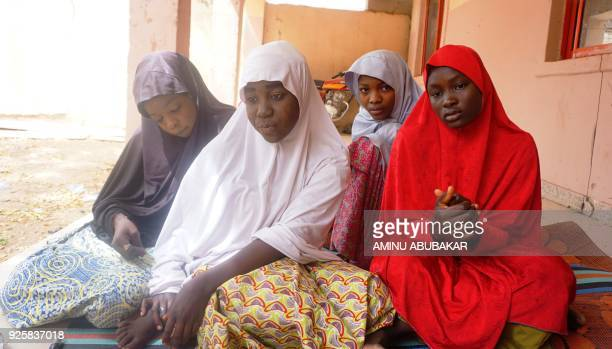 Fatima Abdu Zahra Bukar Fatima Bukar 13 and Yagana Mustapha four schoolgirls of Government Girls Technical College who escaped from Boko Haram attack...