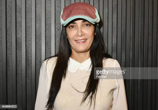 Fatima Adoum attends the Low Notes Premiere at Cinema St Andre des Arts on March 06 2017 in Paris France
