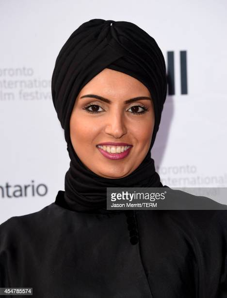 Fatima Alremaihi attends the Kahlil Gibran's The Prophet premiere during the 2014 Toronto International Film Festival at Ryerson Theatre on September...