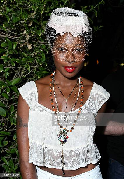Fatima at Levi's & Ace Hotel's Backyard BBQ held at a Private Residence on August 20, 2009 in Los Angeles, California.