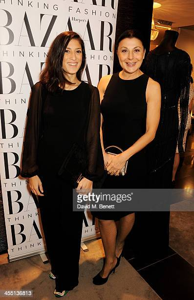 Fatima Bhutto and Allegra Donn attends the ESCADA/Harper's Bazaar book reading with Fatima Bhutto reading from her novel 'The Shadow Of The Crescent...