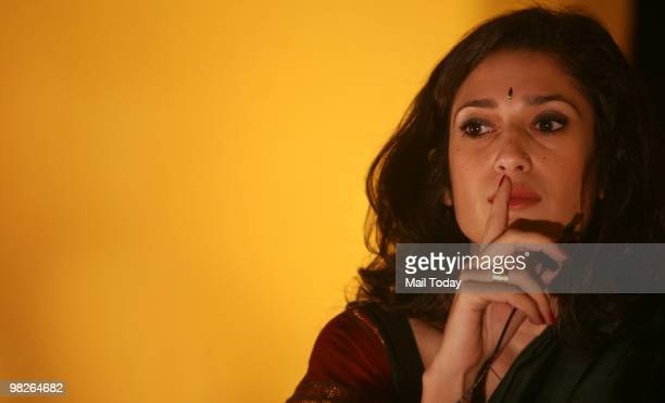 Fatima Bhutto at the launch of her new book Songs of Blood and Sword in New Delhi on April 3 2010