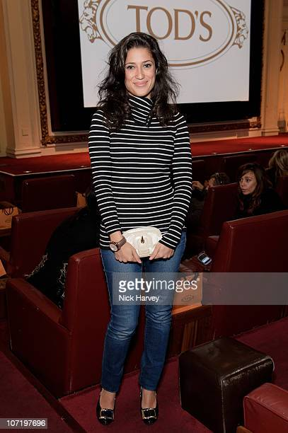 Fatima Bhutto attends a special inhouse screening of 'Sweet Smell of success' hosted by Clive Owen with Ella Krasner Katrina Pavlos presented by...