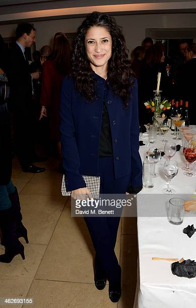 Fatima Bhutto attends Christa and Bella's School Project fundraiser hosted by Christa D'Souza and Bella Pollen in aid of Marefat High School in Kabul...