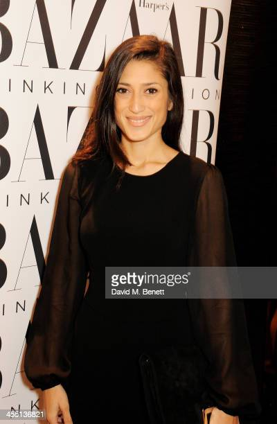 Fatima Bhutto attends the ESCADA/Harper's Bazaar book reading with Fatima Bhutto reading from her novel The Shadow Of The Crescent Moon at the ESCADA...
