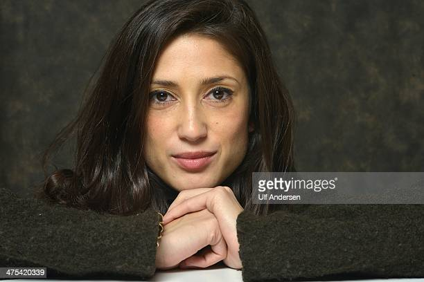 Fatima Bhutto Pakistani writer poses during a portrait session held in Paris France in February 12 2014