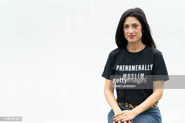 Fatima Bhutto writer during the 2019 Hay Festival on May 25 2019 in HayonWye Wales