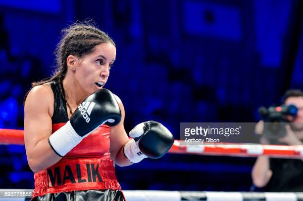 Fatima El Kabous during the event No Limit Levallois at Salle Marcel Cerdan on December 14 2017 in Paris France