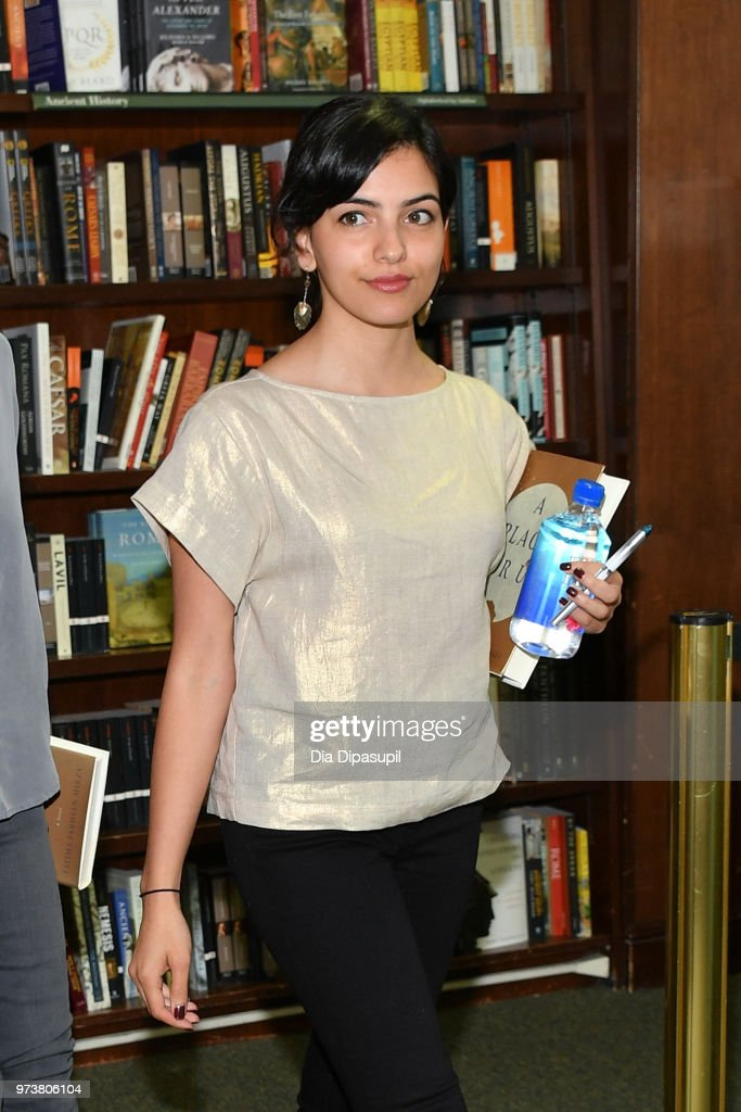 Fatima Farheen Mirza attends Fatima Farheen Mirza in conversation with Sarah Jessica Parker and Lisa Lucas at Barnes & Noble Union Square on June 13, 2018 in New York City.