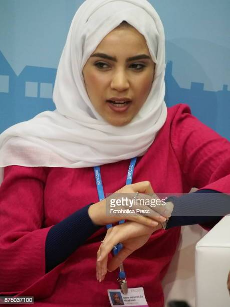 Fatima Mohamed Eid Al Madhloum from United Arab Emirates at the United Nations Framework Convention on Climate Change UNFCCC COP23