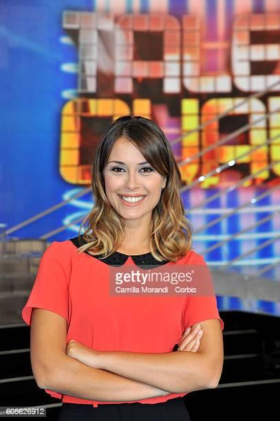 Fatima Trotta attends 'Tale e Quale Show' presentation on September 14 2016 in Rome Italy