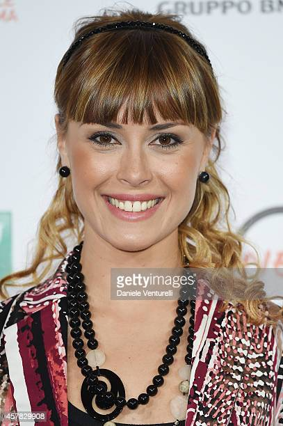 Fatima Trotta attends the 'Andiamo A Quel Paese' Photocall during the 9th Rome Film Festival on October 25 2014 in Rome Italy