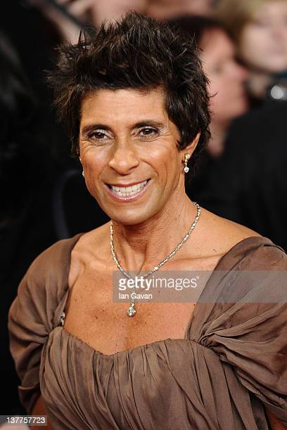 Fatima Whitbread attends the National Television Awards 2012 at the 02 Arena on January 25 2012 in London England