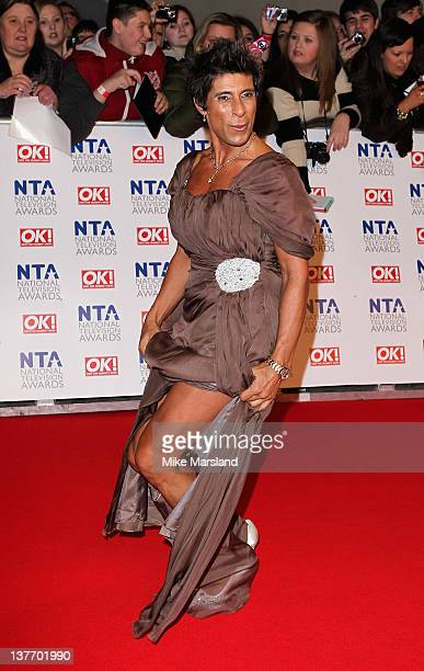 Fatima Whitbread attends the National Television Awards at the O2 Arena on January 25 2012 in London England