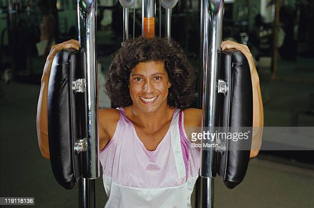Fatima Whitbread of Great Britain during her training session on 1st May 1988 in London United Kingdom