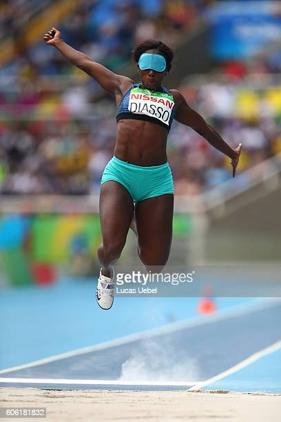 a895801da6 Fatimata Brigitte Diasso of Côte d Ivoire competes in Women s Long Jump T11  during day