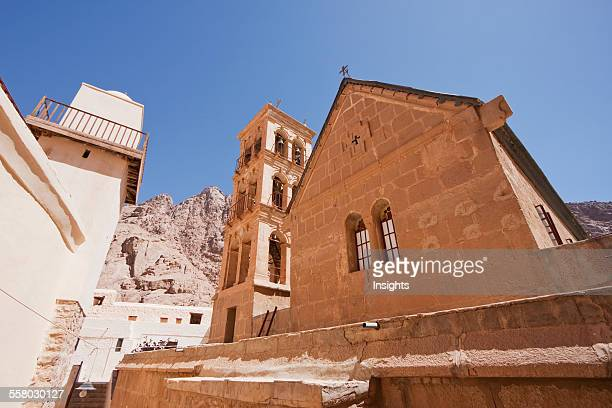 Fatimid Mosque On The Site Of A Crusader Chapel And Great Basilica Of The Transfiguration In The Holy Monastery Of St Catherine At Mount Sinai South...