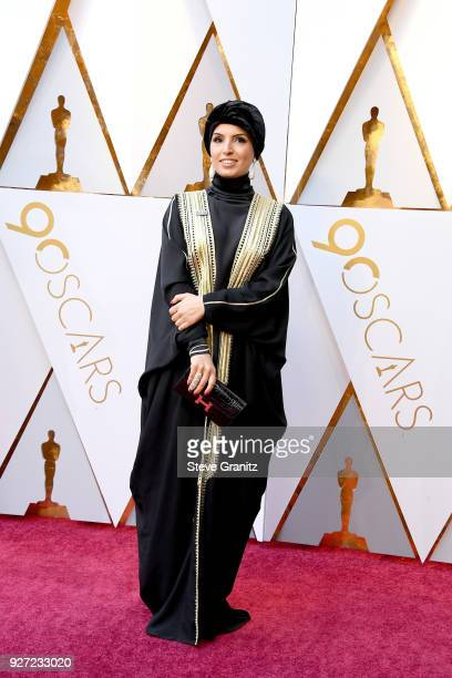 Fatma Al Remaihi attends the 90th Annual Academy Awards at Hollywood Highland Center on March 4 2018 in Hollywood California