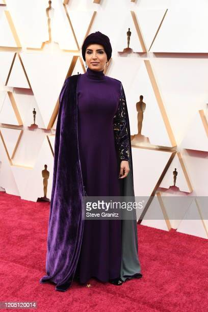 Fatma Al Remaihi attends the 92nd Annual Academy Awards at Hollywood and Highland on February 09, 2020 in Hollywood, California.