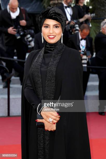 Fatma Al Remaihi attends the screening of Capharnaum during the 71st annual Cannes Film Festival at Palais des Festivals on May 17 2018 in Cannes...