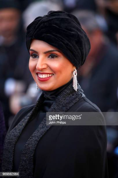 Fatma Al Remaihi attends the screening of 'Capharnaum' during the 71st annual Cannes Film Festival at Palais des Festivals on May 17 2018 in Cannes...