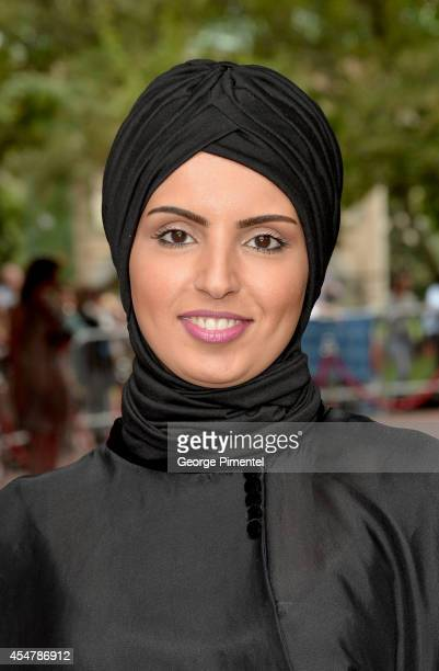 Fatma AlRemaihi attends the Kahlil Gibran's The Prophet premiere during the 2014 Toronto International Film Festival at Ryerson Theatre on September...
